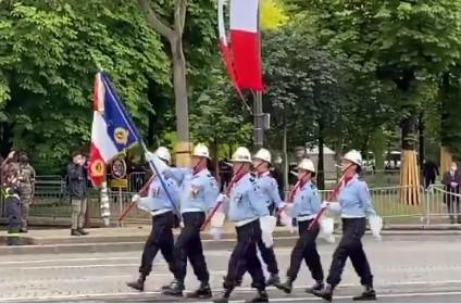 Défilé militaire du 14 Juillet 2021 sur les Champs-Élysées
